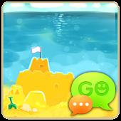 GO SMS Pro Summer Beach Theme