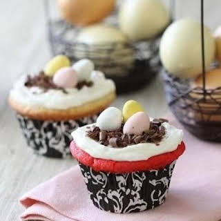Simple Easter Cupcakes.