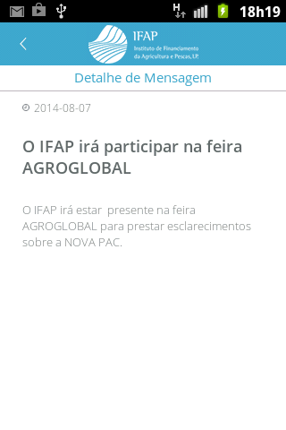 IFAP MOBILE- screenshot