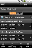 Screenshot of Satyam Cineplexes