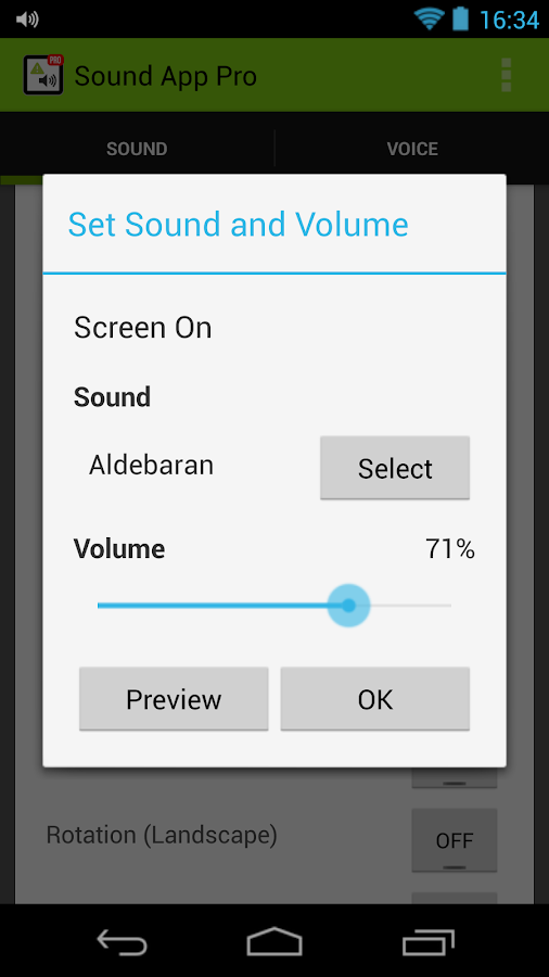 Sound App: Set Sound & Voice- screenshot