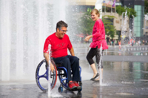 wheelchair-access-in-Montreal - Urban adventures abound in Montreal, Quebec, Canada.