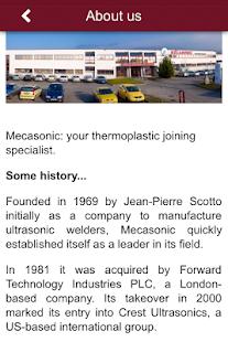 MECASONIC - náhled