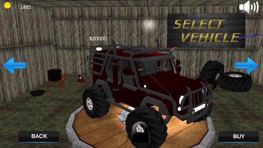 吉普车爬坡3D