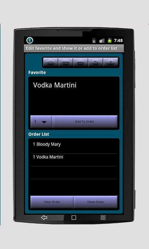 Pocket Cantina- screenshot