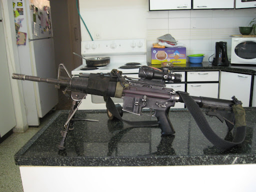 Building An Idf Style M4 That Looks Like It Has Been In Service
