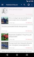 Screenshot of Nederland Nieuws