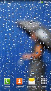 Déšť Živé Tapety - náhled