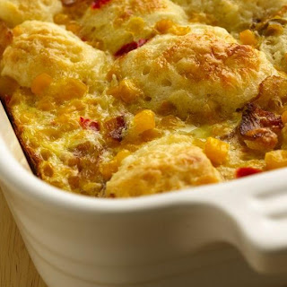 Bacon and Egg Biscuit Bake.