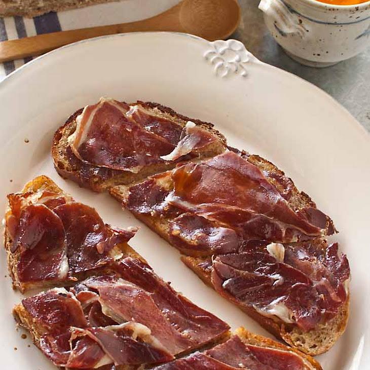 Serrano Ham Crostini Recipe
