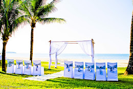 Hilton wedding setup