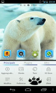 Polar Bears GO Launcher EX - screenshot thumbnail
