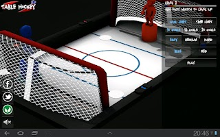 Screenshot of Table Hockey HD