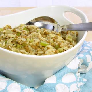 Lentil Risotto (Risotto alle Lenticchie) - pressure cooker