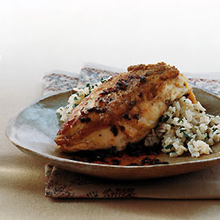 Crisp Chicken with Sherry-Vinegar Sauce.