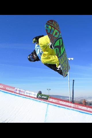Freestyle snowboarding - screenshot