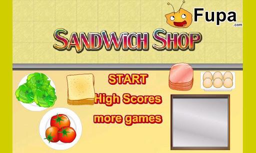 Sandwich Shop Free