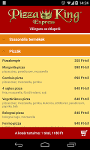 Pizza King Express screenshot 1