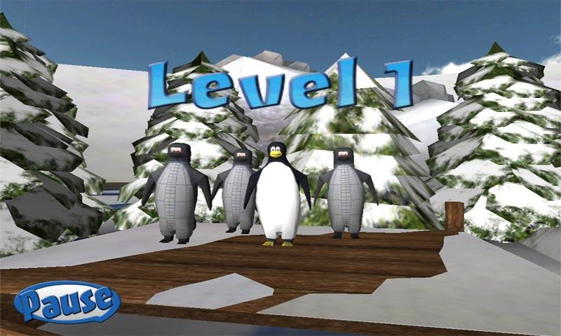 Penguin Snowcap Challenge Lite - screenshot