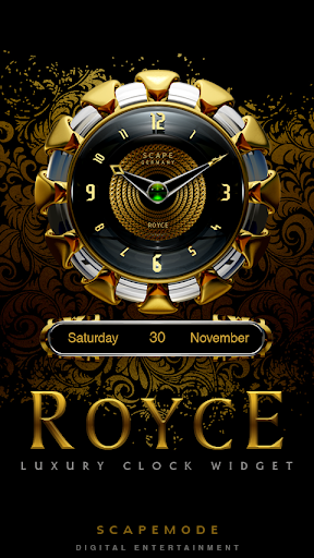 ROYCE Luxury Clock Widget