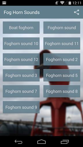 Fog Horn Sounds
