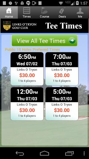 Links O Tryon Golf Tee Times