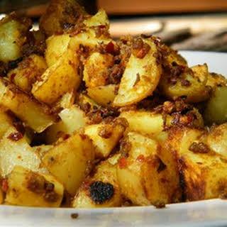 Bengaladumpa Vepudu (Potato Stir-Fry).