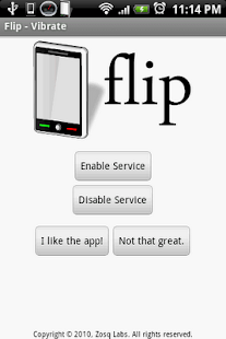 Flip - Vibrate - screenshot thumbnail