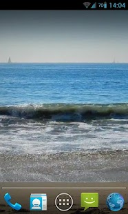 Blue Waves Live Wallpaper HD- screenshot thumbnail