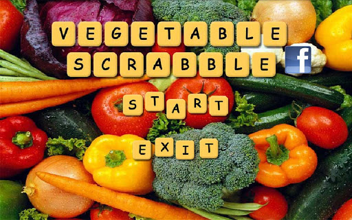 Vegetable Scrabble