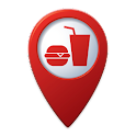 Fast Food Locator / Finder icon