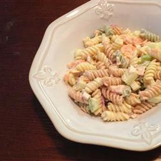 Smoked Salmon Pasta Salad.