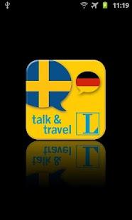 Schwedisch talk&travel- screenshot thumbnail