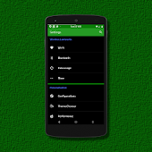 Black MTRL - Green CM12 Theme
