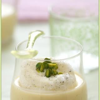 Vanilla, cardamom Snow Eggs.