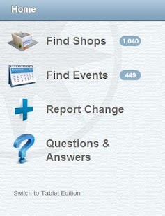 Quilt Shop Locator - screenshot thumbnail