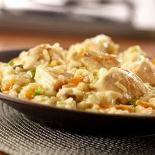 Creamy Chicken Risotto.
