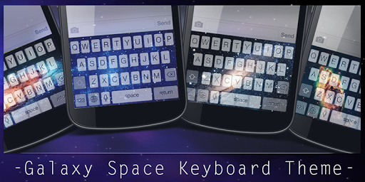 Galaxy Space Keyboard Theme