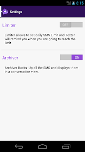 SMS Texter Free- screenshot thumbnail