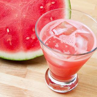 Fresh Watermelon Margaritas.