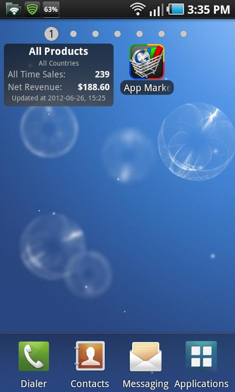 App Market Analytics - screenshot