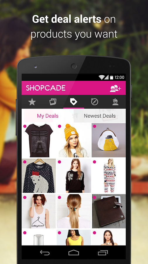 Shopcade - screenshot