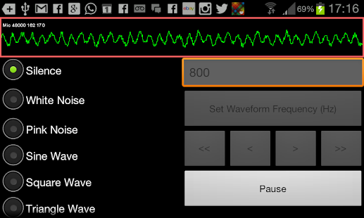 SoundForm Signal Generator- screenshot thumbnail