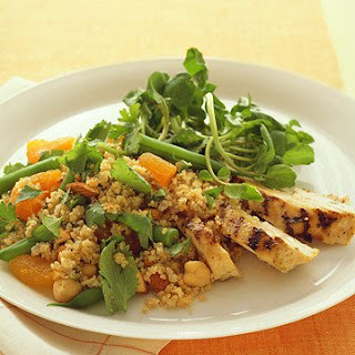 Chicken and Bulgur Salad.