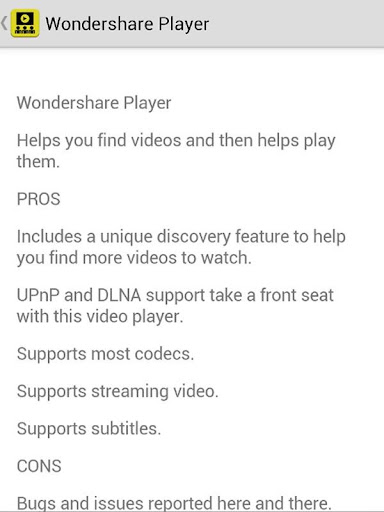 Video Player Recommended