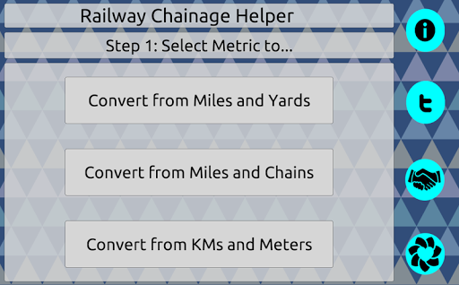 Railway Chainage Helper