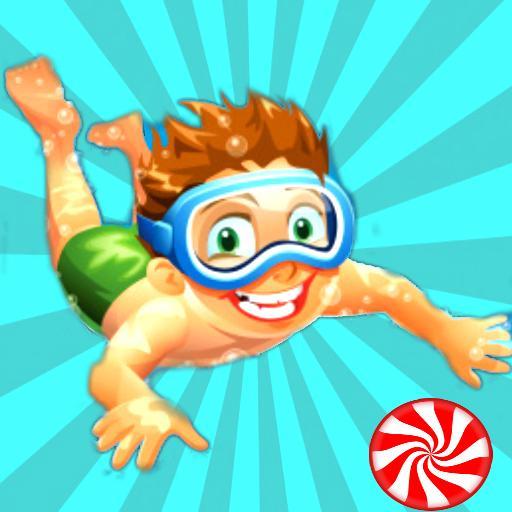 糖果游泳潛水挑戰 動作 App LOGO-硬是要APP