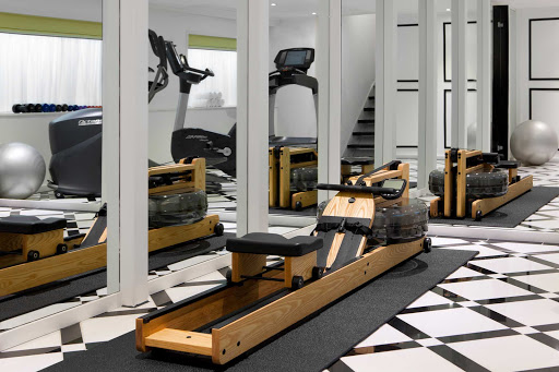 Keep in shape during your European cruise by hitting River Princess's fitness center.