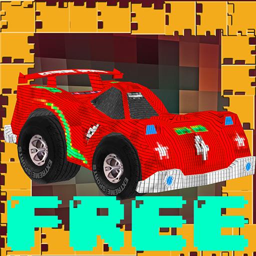 Pixel Craft Car Parking LOGO-APP點子