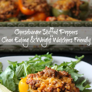 Cheeseburger Stuffed Peppers